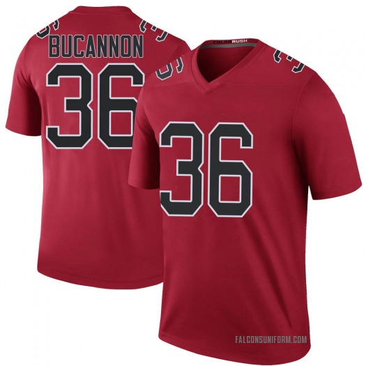 Nike Deone Bucannon Atlanta Falcons Legend Red Color Rush Jersey - Youth