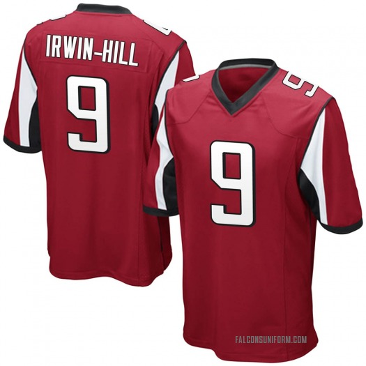Nike Sam Irwin-Hill Atlanta Falcons Game Red Team Color Jersey - Youth