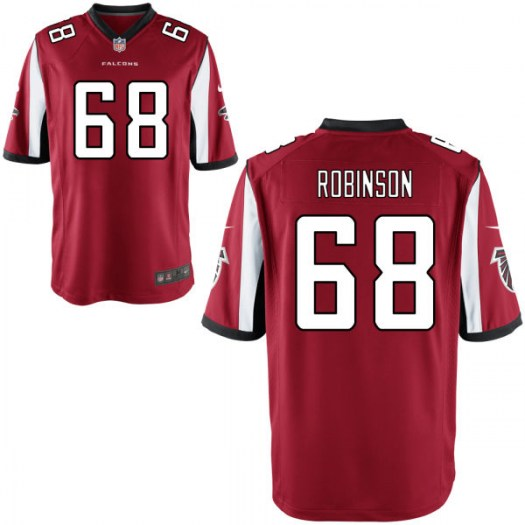 Nike Trevor Robinson Atlanta Falcons Game Red Jersey - Youth